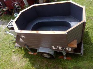 Siirrettävät saunat ja kylpytynnyrit